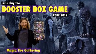 MTG - Let's Play The Core Set 2019 Booster Box Game for Magic: The Gathering!