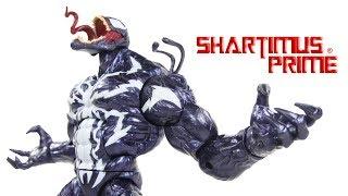 Marvel Legends Monster Venom BAF Build A Figure 2018 Marvel Hasbro Action Figure Toy Review