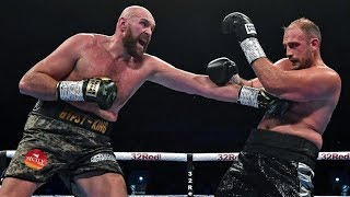 TYSON FURY Unanimous Decision WIN over Francesco Pianeta