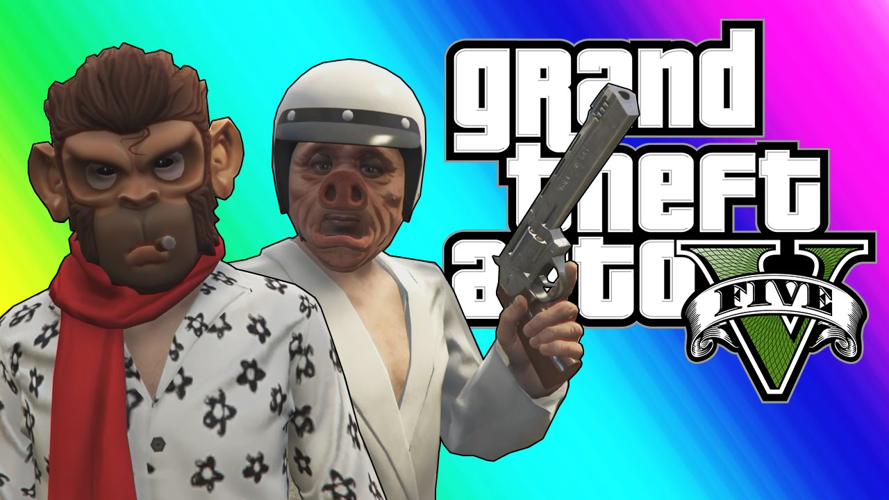GTA 5 Online Funny Moments - Yacht, Switch Blade, and New Apartments! (DLC)