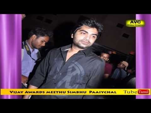 Simbhu angry on Vijay and Filmfare Awards