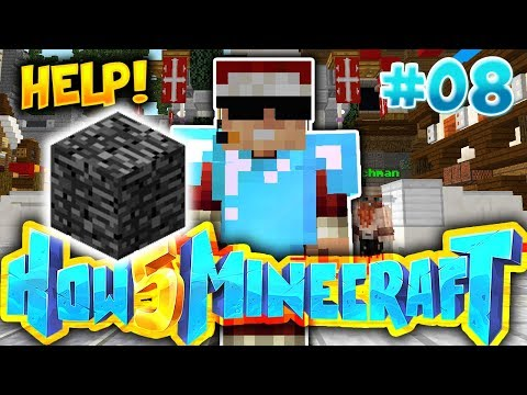 THE ADMINS GAVE ME BEDROCK!! (CHRISTMAS SPECIAL) - How To Minecraft S5 #8