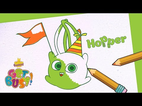 BRAND NEW - SUNNY BUNNIES | Drawing Hopper 2 | Arts & Crafts | Cartoons for Kids