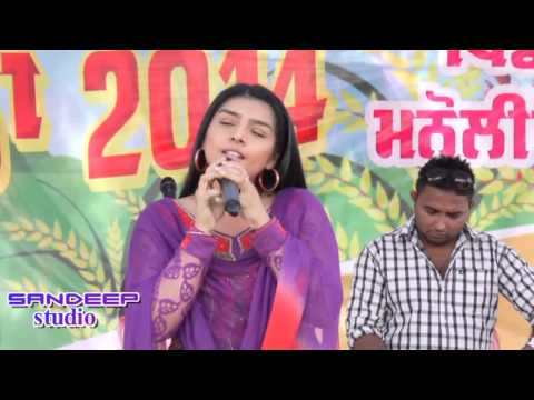 Russna by Rupinder Handa in live show at manolian baisakhi mela...