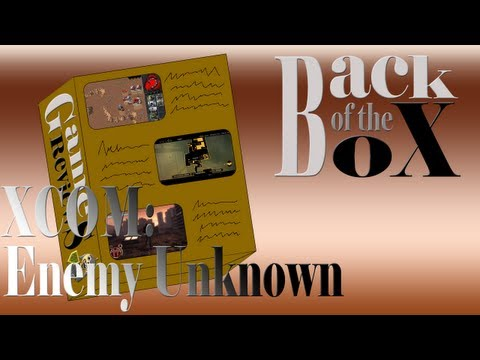 Back of the Box XCOM: Enemy Unknown PCPS3XBox 360 Review