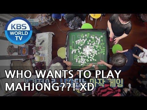 Who wants to play Mahjong?! XD [One Night Sleepover Trip/ 2018.06.12]