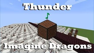 Download Lagu Thunder - Imagine Dragons - Minecraft Note Blocks Gratis STAFABAND