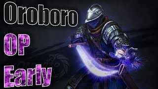"Dark Souls 3 : Overpowered ""Oroboro"" Early (Raw Falchion)"