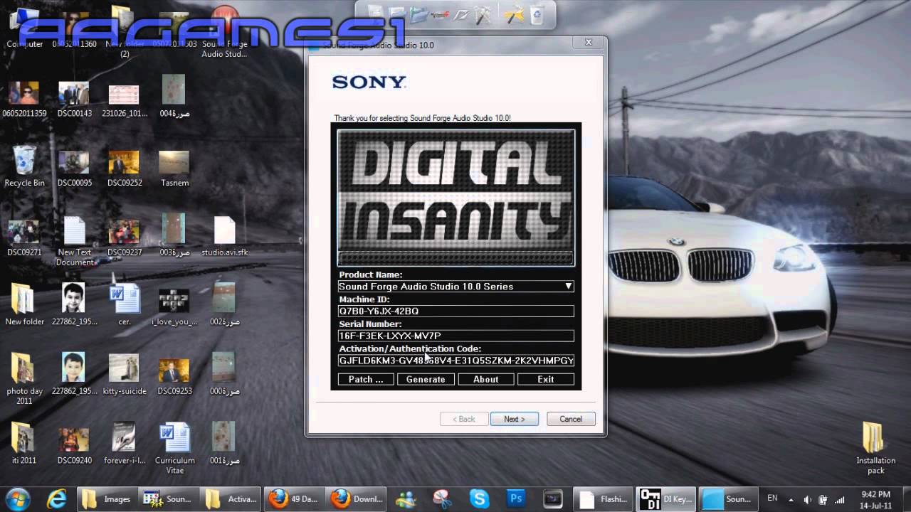 sony cd architect 5.2 activation code