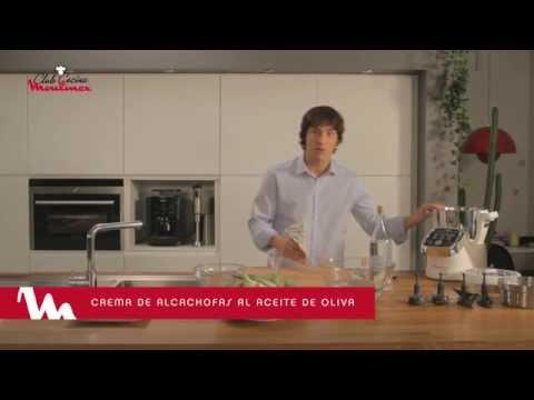 Cuisine Companion y Jordi Cruz - Crema de alcachofas al aceite de oliva