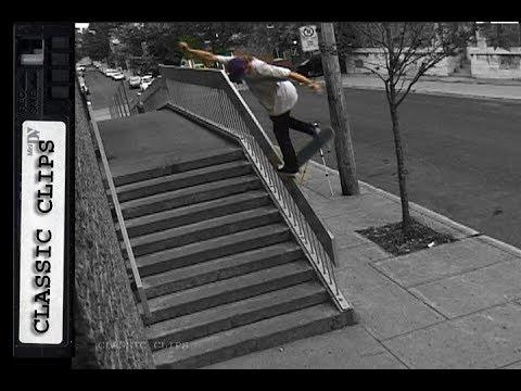 Skateboarding Classic Clips #270 Ryan Decenzo Paul Trep