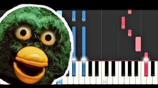 Wakey Wakey - Don't Hug Me I'm Scared (Piano Tutorial)