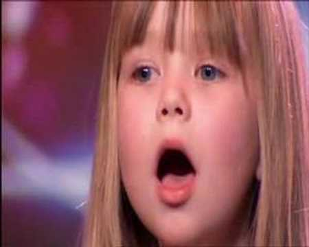 "�""Britains Got Talent or Americas Got Talent � Connie Talbot WOWs Simon Cowell !"""