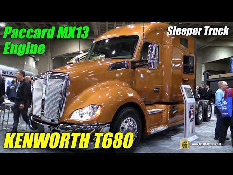 2015 Kenworth T680 Truck with Paccar MX 13 Engine - Exterior, Interior Walkaround - 2015 Expocam MTL