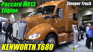 2015 Kenworth T680 Truck with Paccar MX 13 Engine - Exterior, Interior Walkaround - 2015 Expocam MTL