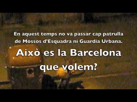 Incivismo en Poblenou (Barcelona)