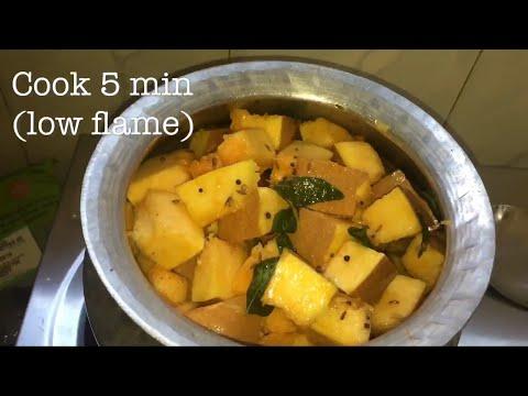 ఆంధ్రా పల్లెటూరి బెల్లం గుమ్మడికాయ కూర తయారీ | Sweet Pumpkin Curry In Telugu | Gummadi Kaya Koora