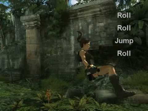 Tomb Raider Underworld - Acrobatics Gameplay (Ultra Slow Motion) + How to!