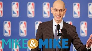 NBA Commissioner Hoping To Change NBA Incentives | Mike & Mike