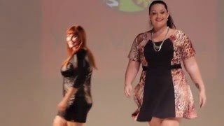 Xica Vaidosa - Desfile Fashion Weekend Plus Size - Inverno 2016