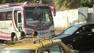 KARACHI to SANGHAR in BABA FARID DAEWOO saddar bus stand
