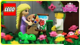 ♥ LEGO Disney Princess Rapunzel MONEY FOR CHARITY Cute Animation Cartoon (Episode 4)