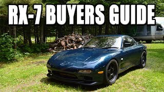 How to Buy a Used Mazda RX7