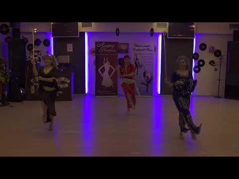 Московская школа танцев Танцквартал  Трио Руби. Алмаз Каира 19 февраля 2017г.