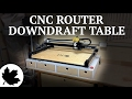 CNC Downdraft Table with Storage
