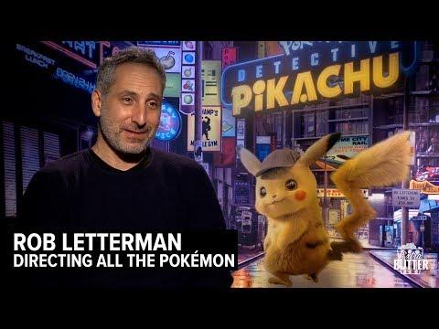 Rob Letterman: Directing  Pokémon: Detective Pikachu | Extra Butter Interview