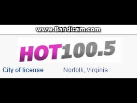 WVHT HOT 100.5 Norfolk, VA TOTH ID at 7:00 p.m. 9/6/2014