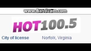 WVHT HOT 100.5 Norfolk, VA TOTH ID at 7:00 p.m. 9/6/2014