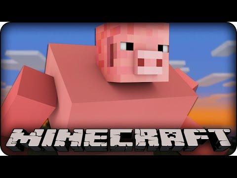 Minecraft Mods - PIG GODZILLA IN MINECRAFT DESTROYS CITY?? ! ( Pigzilla Meteor Mod Showcase)