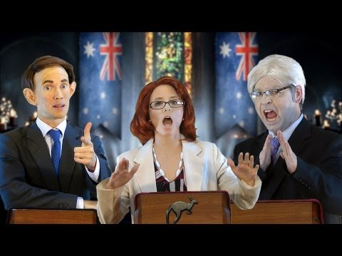 Aussie Election: A Game of Polls - feat. Julian Assange [RAP NEWS 20 - Season 1 finale]