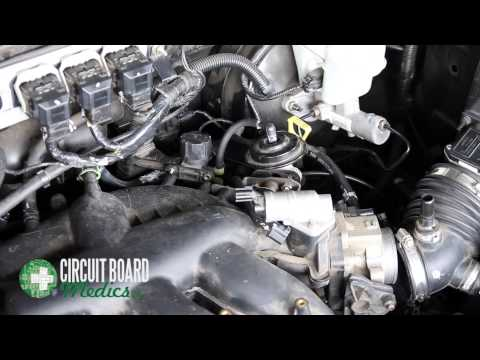 How To Remove And Replace Ignition Coils 2005-2006 Ford Escape (P0351 P0352 P0353 P0354 P0355 P0356)