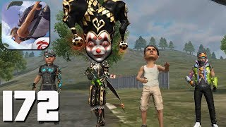 Free Fire: Battlegrounds - Gameplay part 172 - New Mod Big-Head BOOYAH!🤩(iOS, Android)
