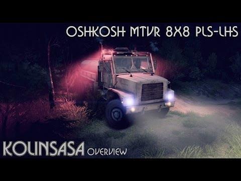 Oshkosh MTVR 8x8 PLS-LHS