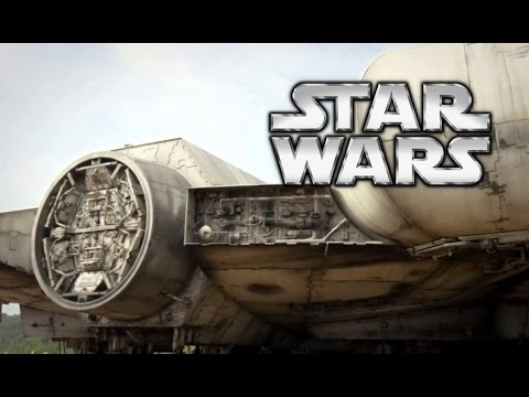 Star Wars: Episode 7 VIRAL CLIP - First Millenium Falcon Footage (2015) J.J. Abrams Movie HD