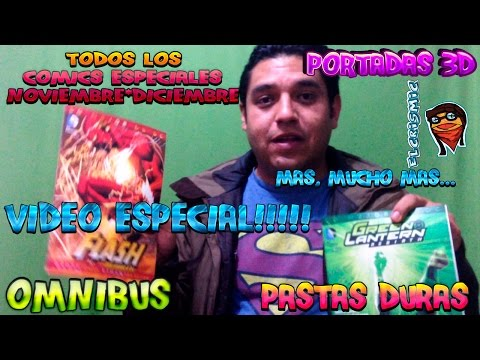 COMICS **VIDEO ESPECIAL** OMNIBUS, PASTAS DURAS, 3D, EDITORIAL TELEVISA MEXICO, ELCRISMIC
