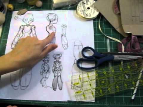 Building a ball-jointed doll pt 1a