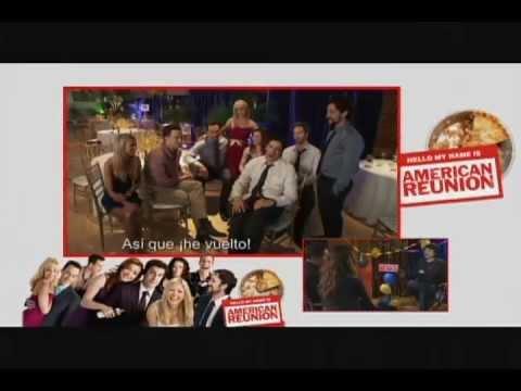 Entrevistas Jason Biggs y Allyson Hannigan / Eugene Levy y Jennifer Coolidge - American Reunion