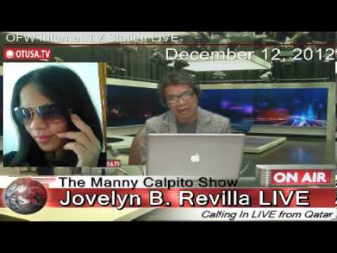 Love-Magnet bet. husband and wife. Topic of OTUSA.TV OFW Beso Beso_Episode 6_ The Manny Calpito Show