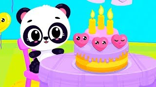 Baby Learn Colors Game - Cute & Tiny Shapes - Kids Learn Shapes Birthday Party Funwith Baby Pets