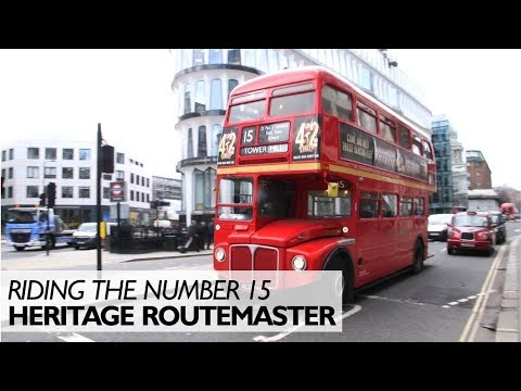 You Can Still Ride Routemaster Buses in London