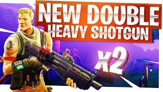 New Double Heavy Shotgun is OP - New Fortnite Legendary Shotgun