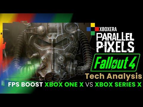 Fallout 4 FPS Boost Analysis: Xbox One X vs Xbox Series X! [4K]