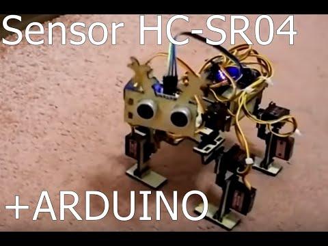 Ultrasonic Sensor HC-SR04 with LCD Display
