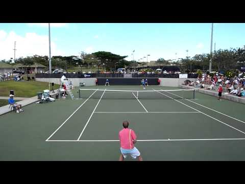 Honolulu Challenger 2010 Michael Russell vs. Grega Zemlja in HD