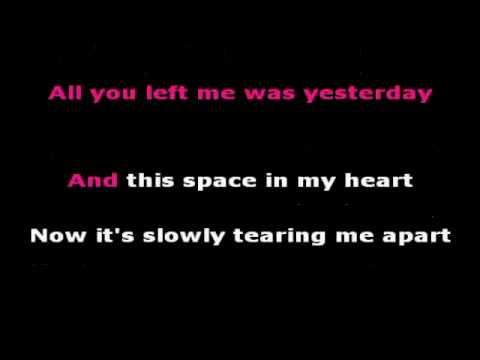 How to break a heart- Westlife with lyrics
