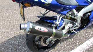Yamaha YZF-R1 2001 sound with Ixil exhaust.